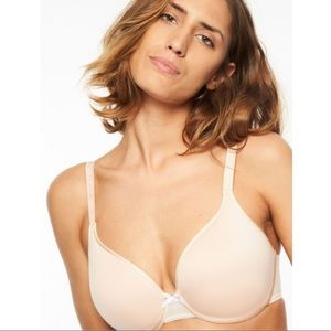 Chantelle 34DDD C Idéal Back Smoothing Bra Nude